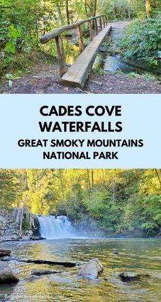 Gatlinburg Tennessee Cabins, Gatlinburg Vacation, Tennessee Vacation, Vacation Places, Vacation Ideas, Most Visited National Parks, Smoky Mountain National Park, Smokey Mountain, Waterfall Hikes