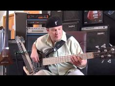 "Warwick Artist Andy Irvine Bass Lesson ""70's Finger Funk"" - YouTube"