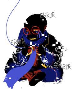 Undertale Fanart, Undertale Au, Sans Art, Error Sans, Doodles, Darth Vader, Kawaii, Art Things, Anime