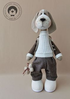 Куклы мастера Wolli Chi (есть и выкройки) Animal Sewing Patterns, Stuffed Animal Patterns, Doll Patterns, Felt Dolls, Doll Toys, Baby Toys, Kids Toys, Fabric Toys, Cat Doll