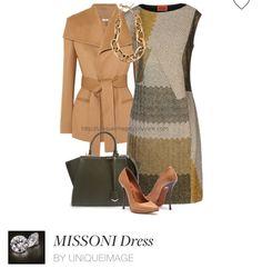 Missoni dresses, Altuzarra jackets and Lanvin shoes.