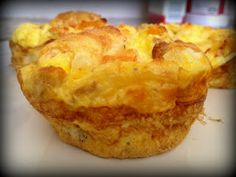 Daily Dose of Nutrition: Egg Muffins  24 Day Challenge friendly, add veggies and maybe ground turkey to round it out.  Each muffin is only 1 egg, watch your amounts