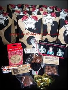 Cowboy Birthday Party Favors - Under the Table and Dreaming