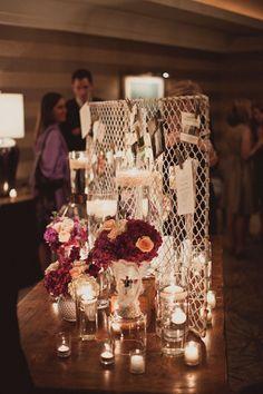 Great way to display memorabilia--reunions, wedding anniversaries, birthdays...
