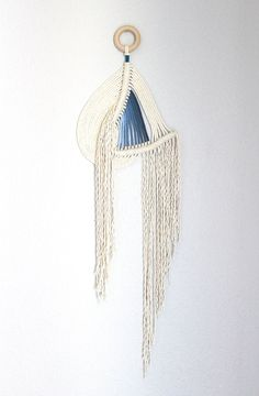 Macrame Wall Hanging Pipeline no.2 by HIMO ART One of a by HIMOART