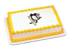 14 Sheet  NHL Pittsburgh Penguins Hockey  Edible Image CakeCupcake Topper *** Find out more about the great product at the image link.