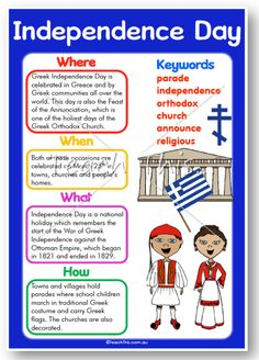 Greek Independence Day :: Teacher Resources and Classroom Games Culture Day, Greek Culture, Greek Language, Speech And Language, Independence Day Activities, Greek Independence, Religion Activities, Learn Greek, Greek Alphabet