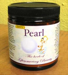 $40.00 Pearl contains mucopolysaccharides which have collagen-like properties, & help protect the elasticity and tone of the skin. Pearl is also an excellent source for a large variety of assimilable water-soluble minerals. Our pearl is 100% water soluble,leaving absolutely no film on the botom of the glass when diluted into water. Pearl may be diluted in liquid & taken internally, or mixed into creams and applied externally to skin. 1/8 teaspoon mixed into drinks or smoothies can be an excellent beauty enhancer.