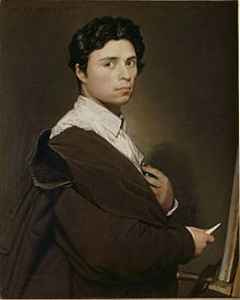 Self-Portrait, 1804 - Jean Auguste Dominique Ingres (1780-1867)