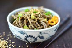Soba Noodles con asparagi: ricette vegetariane | Food Confidential