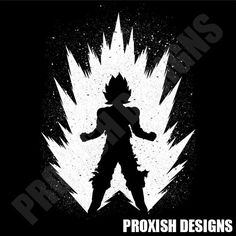 Goku is a T Shirt designed by Proxish to illustrate your life and is available at Design By Humans Shows an image with only two colors. Mighty Power Rangers, Goku T Shirt, Manga Anime, Dragon Ball Gt, Stencil Art, Sketches, Art Prints, Canvas, Illustration