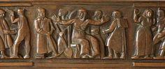 Otto Gutfreund, Návrat legií, (návrh 1921), bronz 17,2 x 192,6 cm