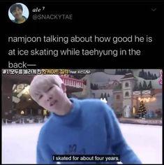 Namjoon, Bts Taehyung, Bts Bangtan Boy, Bts Jungkook, Bts Memes Hilarious, Bts Funny Videos, Bts Funny Moments, V Bts Wallpaper, Bts Tweet