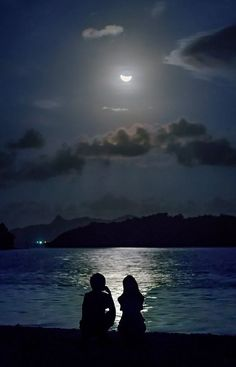 Strategies On How To Get Great Looking Photos Cute Couple Art, Anime Love Couple, Moon Pictures, Couple Pictures, Moon Photos, Sunset Pictures, Anime Couples, Cute Couples, Couple Wallpaper Relationships