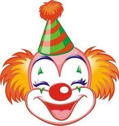 Maestra de Infantil: Payasos. Caretas para imprimir. Dibujos para colorear. Circus Birthday, Circus Theme, Circus Party, Circus Book, Clown Crafts, Circus Crafts, Carnival Crafts, Image Cirque, Theme Carnaval