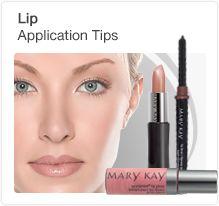 Lip application tips from Mary Kay