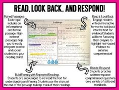 These spring comprehension reading passages will get your students to USE the text and prove their answers! Included in this reading intervention pack for comprehension and fluency are 44 text-based evidence passages. 22 high-interest topics are covered. Each topic includes a nonfiction informationa... Third Grade Reading, Student Reading, Guided Reading, Second Grade, Text Based Evidence, Fluency Activities, Reading Comprehension Passages, Independent Reading, Reading Intervention
