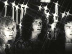 Various Queen video shoot - Roger Taylor, Brian May and John Deacon - Martyn Goddard/Rex Shutterstock/Rex Features/Rex Images