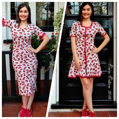 Esin Ertan 2016 Lips Print Dress #esinertan