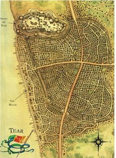 map of Tear