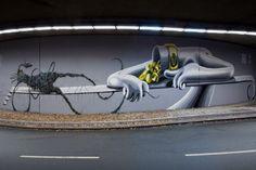 "Mark Gmehling & Dust – ""Fix Me"" Mural // Bochum"