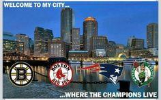 Boston Sports Teams - Boston Bruins, Boston Red Sox, New England Patriots and Boston Celtics - RAWK YO SHYT! <3