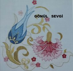 GÖNÜL SEVGİ Embroidery Saree, Folk Embroidery, Embroidery Designs, Gold Work, Hand Quilting, Pattern Making, String Art, Line Art, Needlepoint