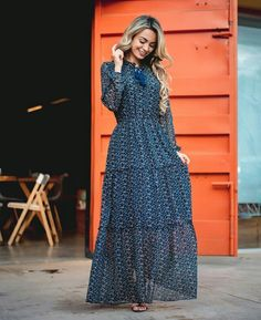 New collection Modest Dresses Muslim Fashion, Modest Fashion, Hijab Fashion, Boho Fashion, Fashion Dresses, Feminine Fashion, Modest Dresses, Fall Dresses, Cute Dresses