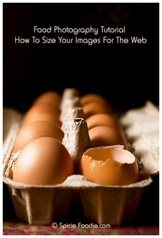 How To Size Your Images For The Web @SpicieFoodie