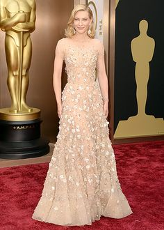 2014: Cate Blanchett wore an Armani Prive gown! I love this gown on Cate. She looked sophisticated and elegant.