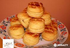 Tejfölös pogácsa Edittől Pancakes, French Toast, Bakery, Muffin, Breakfast, Recipes, Food, Self, Essen