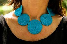 fulanas/ crochet earrings