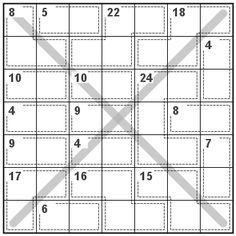 Number Logic Puzzles: 20771 - Killer size 7