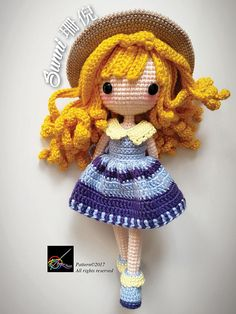 Hello everyone! This is Sunni ~ The Sunshine Girl! Kindly note that this is not a finished product. It is an English Amigurumi crochet downloadable pattern in PDF format. There are altogether 13 pages, with pictures and easy instructions to help you along. The pattern will be available for download immediately after payment has been cleared. This original pattern is in symbol format and is made with the basic crochet techniques like single crochet (X), increase (V), decrease (A), double…