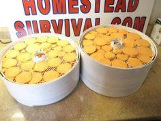 The Homestead Survival | Dehydrating Sweet Potatoes Recipe