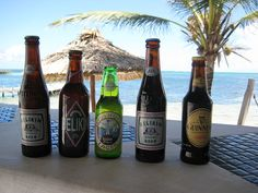 Belikin regular, Premium, Lighthouse, Stout and Guinness:  The Beers of Belize