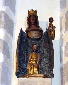 Vierge ouvrante 16ème siècle - Palau del Vidre