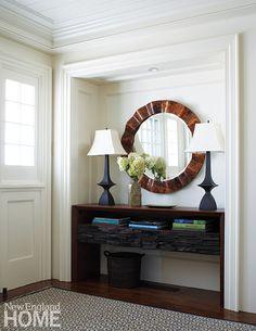 Entry   Patrick Ahearn Architect via New England Home Magazine