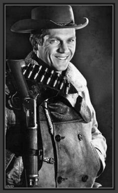 """STEVE McQUEEN starred in a popular TV series """"Wanted: Dead or Alive""""  as the bounty hunter Josh Randall. It aired on CBS for three seasons from 1958–61. The King of Cool went on to many other starring roles for years to come and was (if not still) a bit of an icon much like James Dean."""
