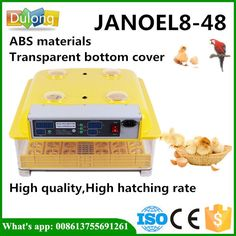 >> Click to Buy << Free shipping DE 48 chicken eggs automatic china incubator #Affiliate
