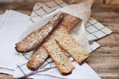 Barras de pan cristal