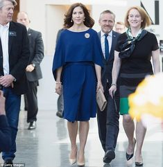It's been a whirlwind few days for Crown Princess Mary, who is currently in Seattle, Washi...