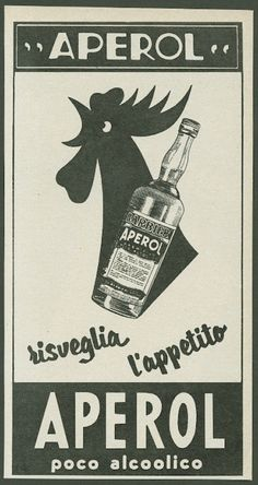 Vintage Advertising : aperol ad Vintage Advertising Campaign aperol ad Advertisement Description aperol ad Sharing is love ! Vintage Italian Posters, Vintage Advertising Posters, Vintage Advertisements, Vintage Posters, Advertising Campaign, Vintage Labels, Vintage Ads, Vespa Ape, Aperol