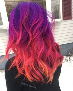 Terrific Pic Dyed Hair bright Style Are your sources giving the action out that will you aren't a natural golden-haired Cute Hair Colors, Pretty Hair Color, Beautiful Hair Color, Hair Color Purple, Hair Dye Colors, Bright Hair Colors, Blue Hair, Bright Colored Hair, Vivid Hair Color