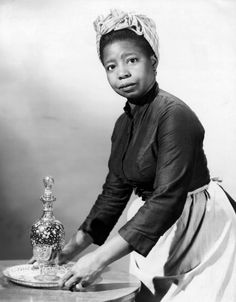 I didn't mind playing a maid the first time, because I thought that was how you got into the business. But after I did the same thing over and over, I began to resent it. I didn't mind being funny, but I didn't like being stupid. - Butterfly McQueen