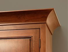 CliqStudios' Cove Crown Molding features an architectural concave which provides a renaissance décor detail to your kitchen cabinets. View CliqStudios' Crown Molding options here: http://www.cliqstudios.com/cabinet-crown-molding