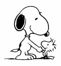 Snoopy and Woodstock (by Charles Schultz)