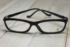 16c775a93669 CHROME HEARTS BEARDED BABY-A BLACK Glasses Eyewear Eyeglasses Sterling  Silver