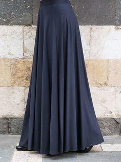Maxi Circle Skirt - Maxi Skirts - Women Long Skirt Outfits For Summer, Pencil Skirt Outfits, Long Skirts For Women, Casual Skirt Outfits, Casual Skirts, Pencil Dresses, Pencil Skirts, Satin Pencil Skirt, Pencil Skirt Casual