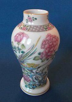 "Classic Rose Ch""ing Dynasty 17 cm"